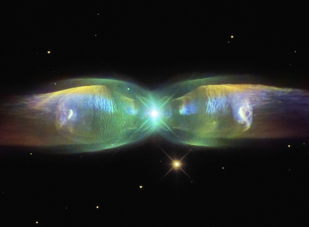 M2-9:蝴蝶星云的翅膀